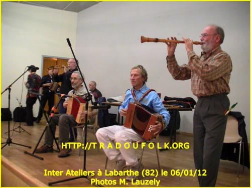 InterAteliers Labarthe du 06/01/2012