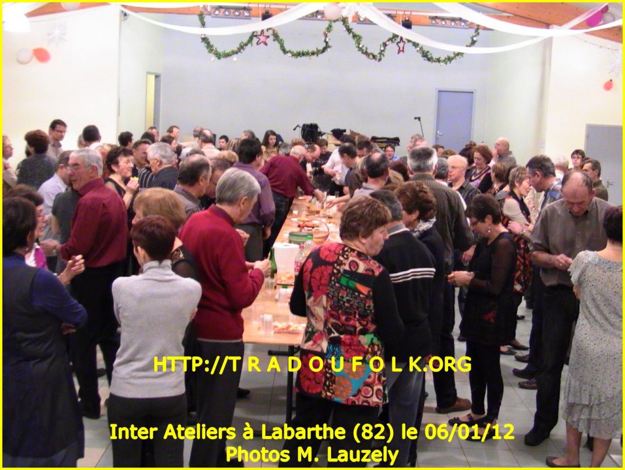 InterAteliers Labarthe du 06/01/2012